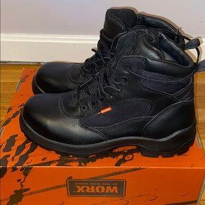 Men's Red Wing black waterproof boots